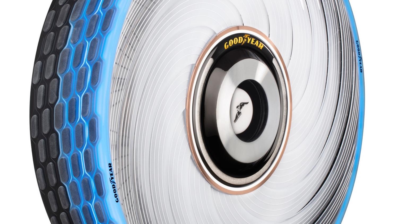 Pneumatiky Goodyear reCharge se samy regenerují a přizpůsobují podle potřeb