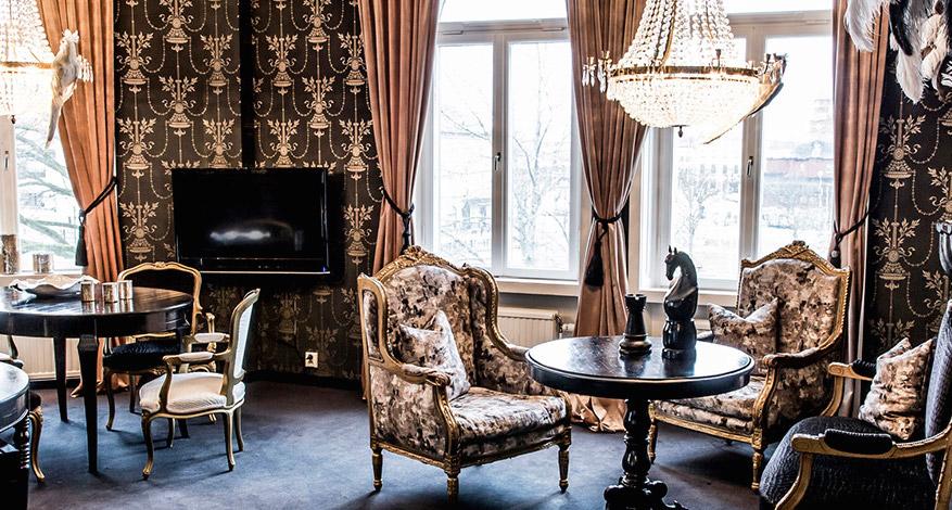 Švédský hotel Stadt proměnil své pokoje v pop-up restauraci