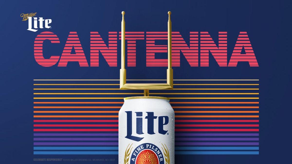 Pivovar Miller Lite uvedl na trh anténu z plechovky piva pro nelegální sledování zápasů
